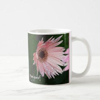 Forgive Yourself Gerber Daisy Coffee Mug