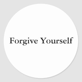 Forgive Yourself Sticker
