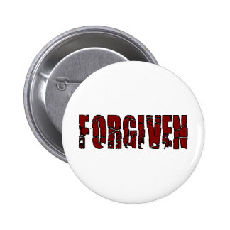 Forgiven Christian 2 Inch Round Button
