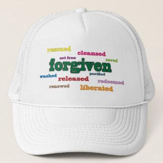 Forgiven Christian hat/cap Trucker Hat