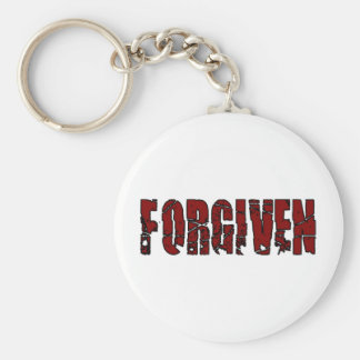Forgiven Christian Keychain