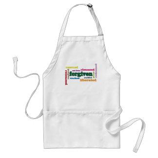 Forgiven Christian kitchen/BBQ apron