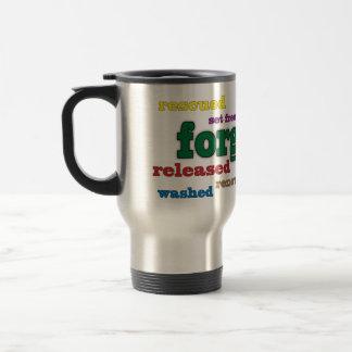 Forgiven Christian travel mug