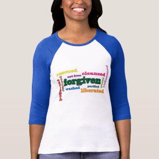 Forgiven Christian women's 3/4 length sleeve tee