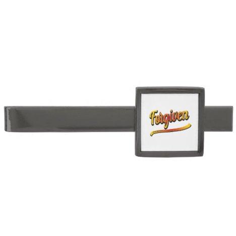 Gunmetal Finish Tie Bar