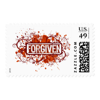 Forgiven Postage Stamp