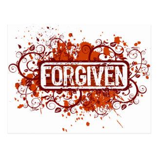 Forgiven Post Card