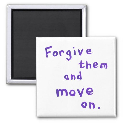 Forgiveness freedom growth recovery progress fridge magnets