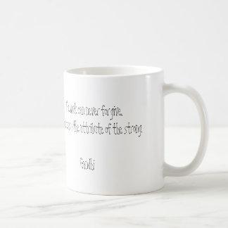 Forgiveness Gandhi Quote Mug