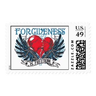 Forgiveness Is Freedom Postage Stamps