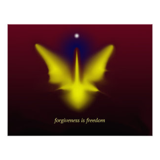 forgiveness is freedom poster