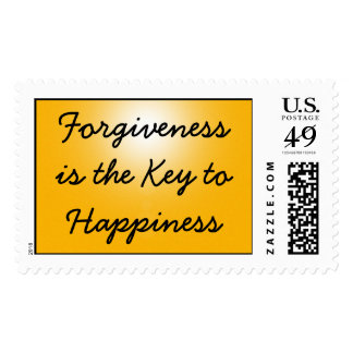 Forgiveness is the Key to Happiness Stamp