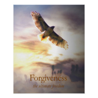 Forgiveness Poster for Metaphysical Healing