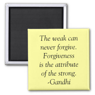 forgiveness quote 2 inch square magnet