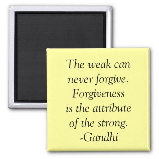 forgiveness quote fridge magnet