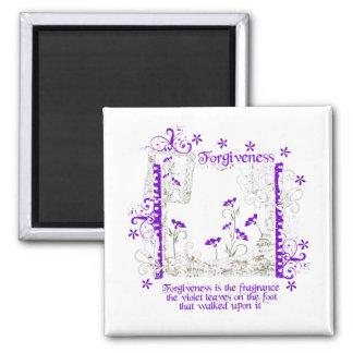 Forgiveness Violet Magnets