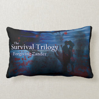 Forgiving Zander [Zombie Kiss] Black Lumbar Lumbar Pillow
