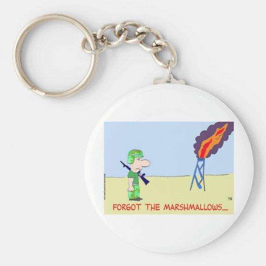 forgot marshmallows tyrmay keychain