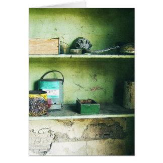 Forgotten Artefacts - Still Life Card