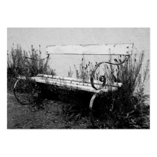 forgotten bench large business card