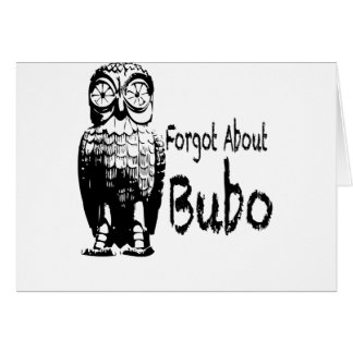 Forgotten Bubo Greeting Cards