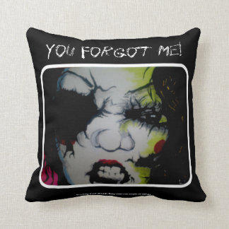'Forgotten Doll' (Throw) American MoJo Pillow