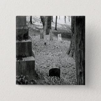 Forgotten Grave Pinback Button