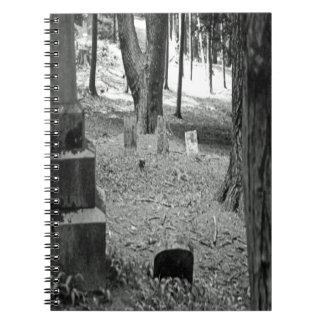 Forgotten Grave Spiral Notebooks