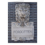 Forgotten Greeting Card