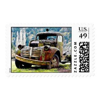 Forgotten - Junker Truck Postage Stamp