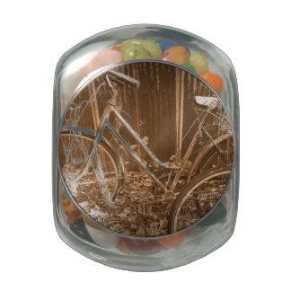 Forgotten Ride Glass Candy Jar