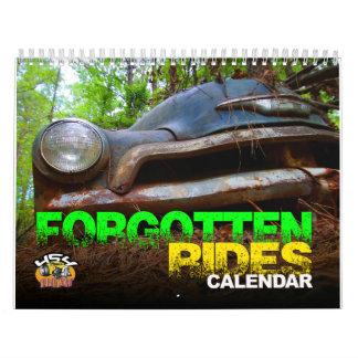 Forgotten Rides Calendar