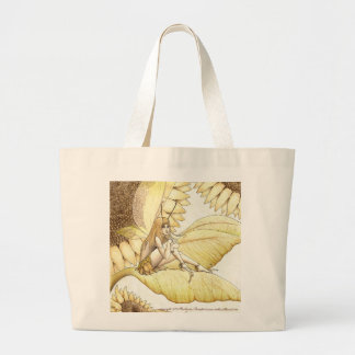 Forgotten Summer Large Tote Bag