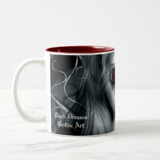 Forgotten Tempest Gothic Art Mug mug