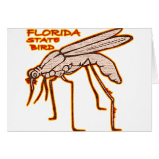 Forida State Bird Greeting Card