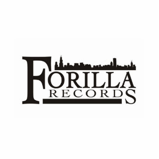 Forilla Records Sculpture with stand