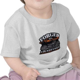 Forjado en América Camisetas