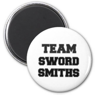 Forjadores de la espada del equipo imán de frigorifico