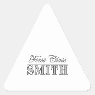 Forjadores elegantes Primera clase Smith Calcomanías Triangulos Personalizadas