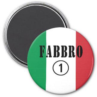 Forjadores italianos: Uno de Fabbro Numero Imanes