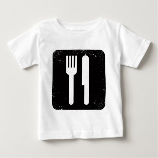 Fork and Knife Baby T-Shirt