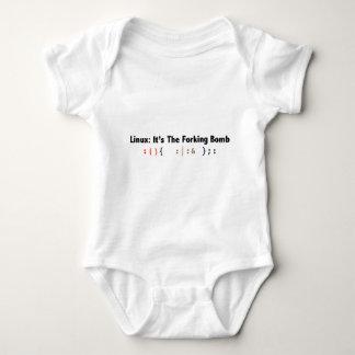 fork_bomb_black.png baby bodysuit