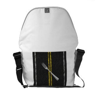 Fork In Road Messenger Bag