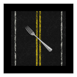 Fork In Road Poster