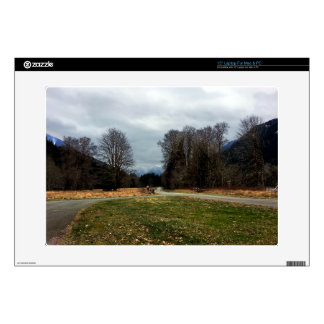 """Fork in the Road Olympic National Park 15"""" Laptop Decals"""