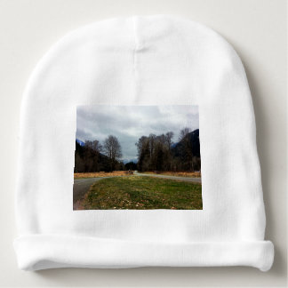 Fork in the Road Olympic National Park Baby Beanie
