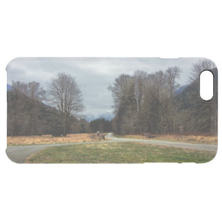 Fork in the Road Olympic National Park Clear iPhone 6 Plus Case