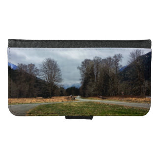 Fork in the Road Olympic National Park Samsung Galaxy S6 Wallet Case