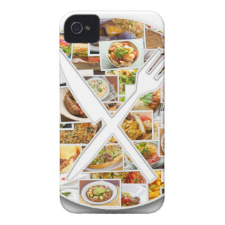 Fork Knife Foods Case-Mate iPhone 4 Cases
