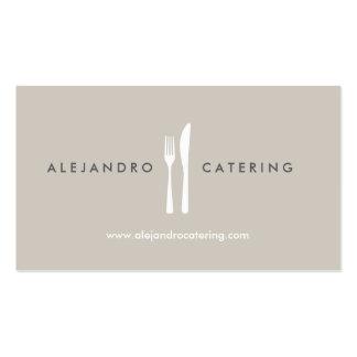 Fork & Knife Logo for Chef, Catering, Restaurant Business Cards